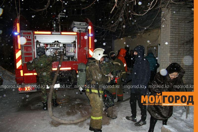 Пожар в Уральске: эвакуировано 120 человек, пострадал3-месячный ребенок pojar6 [800_600]
