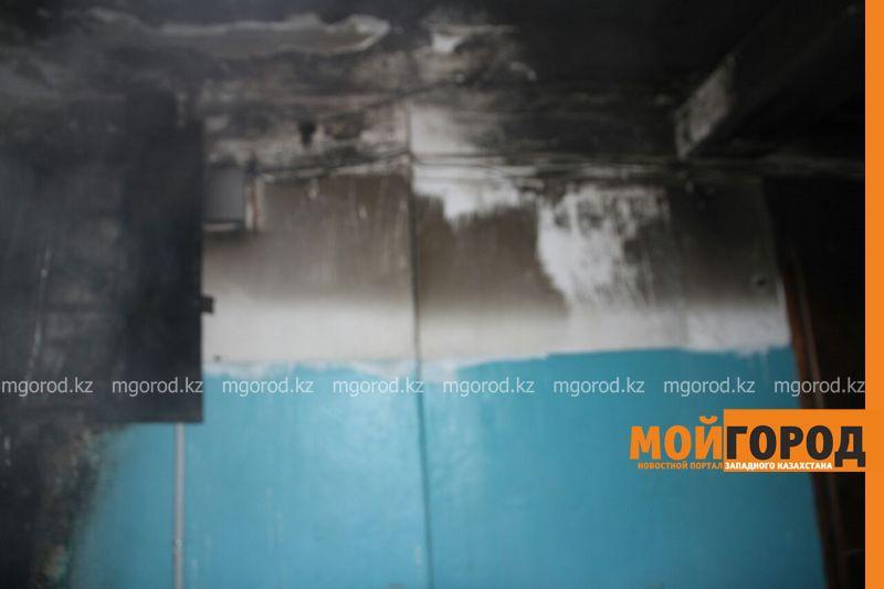 Пожар в Уральске: эвакуировано 120 человек, пострадал3-месячный ребенок pojar7 [800_600]