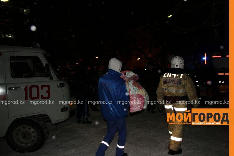 Пожар в Уральске: эвакуировано 120 человек, пострадал3-месячный ребенок pojar8 [800_600]