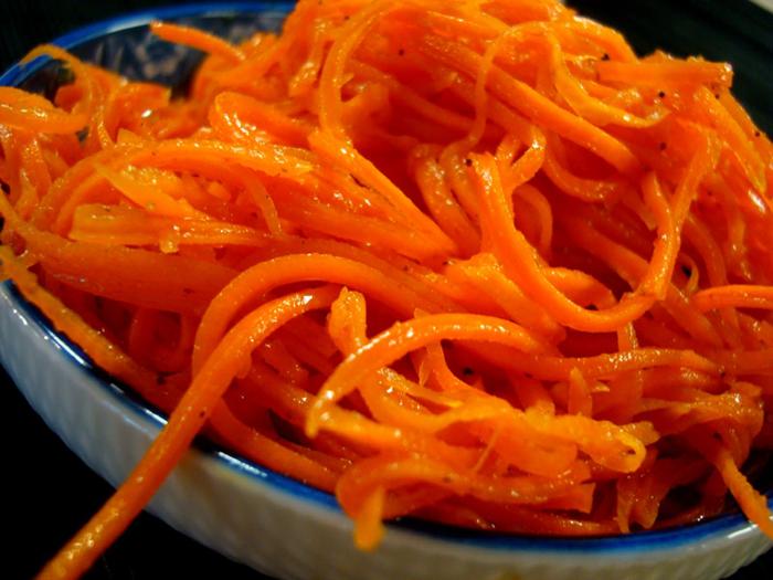 рецепт Самая по-корейски вкусная морковь