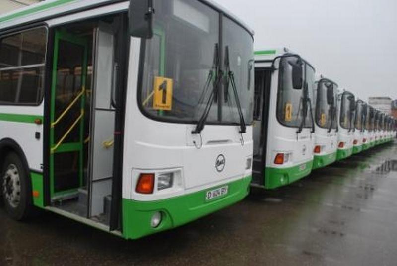 Новости Актобе - Автопарк Актобе добивается повышения тарифов с 55 тенге до 100 новые-автобусы