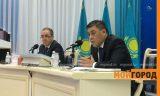 Аким Зачаганска не смог ответить на вопрос на государственном языке