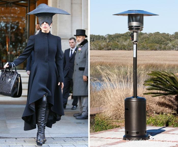 Леди Гага или нагреватель?