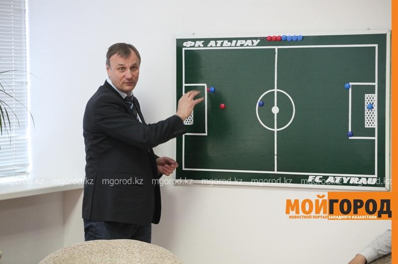 Новости Атырау - Футбольный клуб «Атырау» представил новых зарубежных тренеров IMG_4306