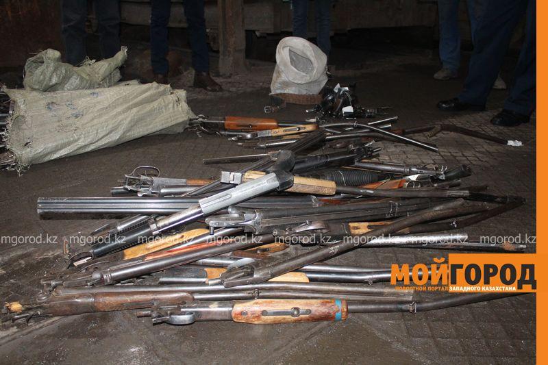 Новости Актобе - 70 единиц оружия изъяли полицейские Актобе
