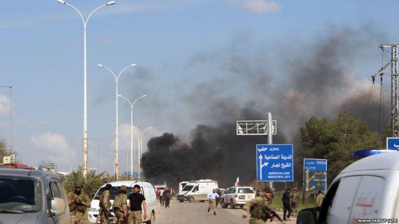 Вблизи сирийского Алеппо террорист взорвал автобус 8A7040C2-8EAA-4BCC-A617-1F4DFEA1358F_w1023_r1_s