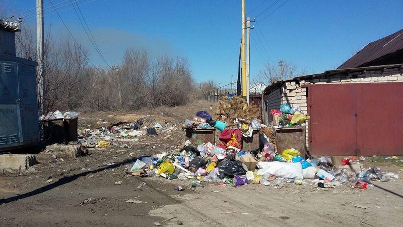 Новости Уральск - Район Курени тонет в мусоре 91371483-c25c-45f7-97cc-0def813fd2cd