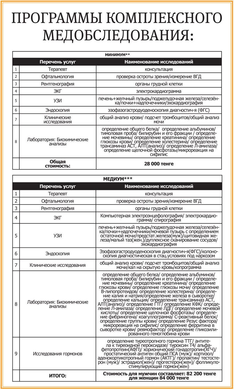 Новости Уральск - Комплексное медобследование предлагает областная клиническая больница Уральска med_mg-2