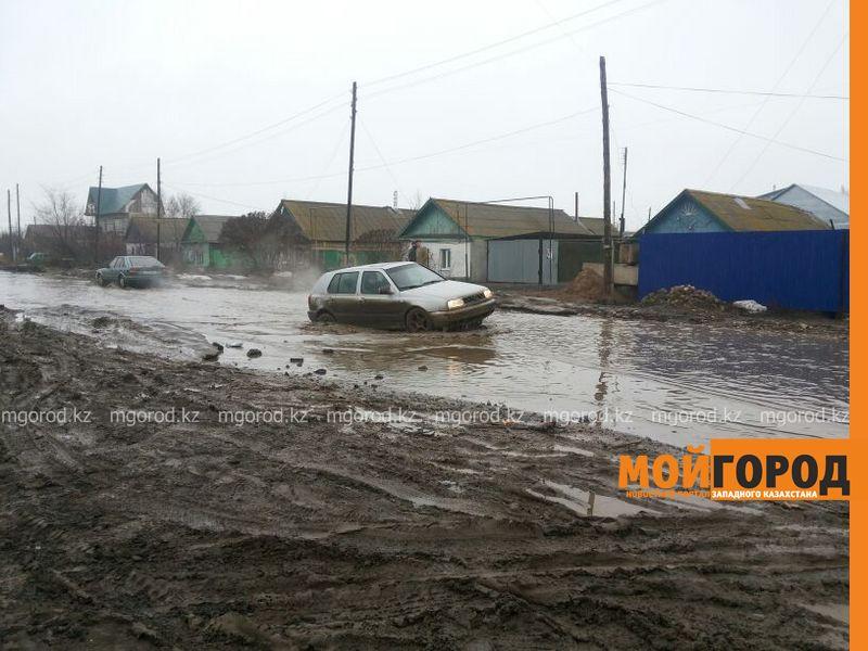 Новости Уральск - Cхема движения маршрутов №6 и №7 изменилась из-за подтопления дорог в Уральске