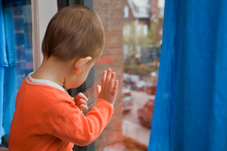 Новости Атырау - В Атырау с начала года из окон выпали трое детей Иллюстративное фото с сайта Today.kz
