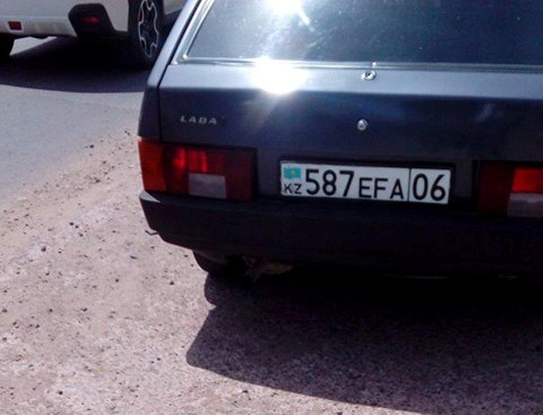 Новости Атырау - В Атырау водитель сбил школьника и скрылся с места ДТП Фото из социальных сетей