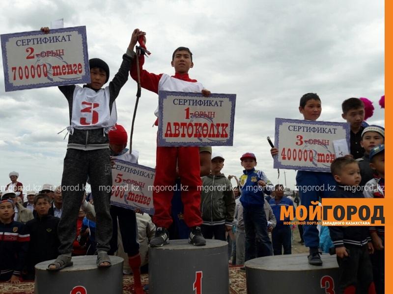 Новости Атырау - 14-летний мальчик выиграл автомобиль на скачках в Атырау 20170509_144427