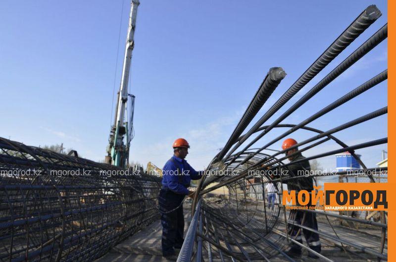 Строительство деповского моста в Уральске могут закончить раньше срока akim most (1)
