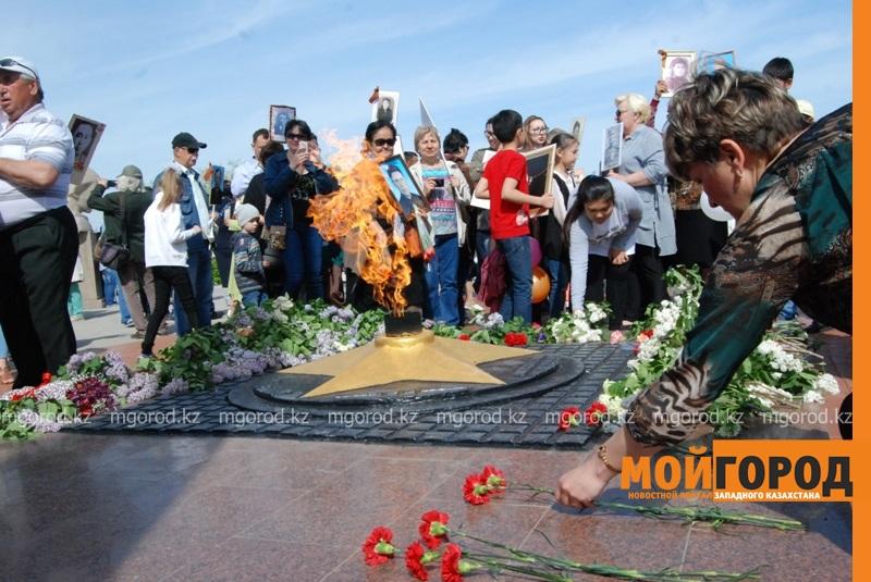 """В шествии """"Бессмертного полка"""" в Атырау приняли участие 700 человек (ФОТО,ВИДЕО) ????????????????????????????????????"""