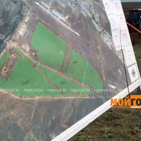 Новости Актобе - В Актобе деревья высадят недалеко от взлетно-посадочной полосы в виде названия города IMG-20170430-WA0045 [800x600]