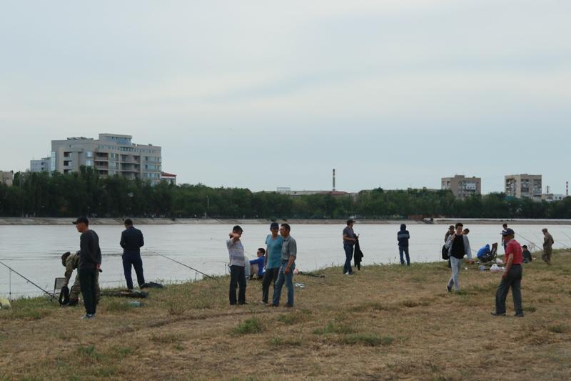Новости Атырау - 9-летний мальчик стал лучшим в соревнованиях по спортивной рыбалке в Атырау 174A0130
