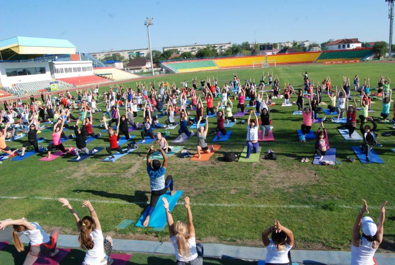 Новости Атырау - Международный день йоги прошел в Атырау DSC_1494