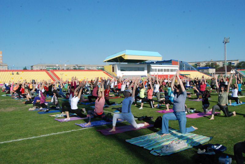 Новости Атырау - Международный день йоги прошел в Атырау DSC_1498