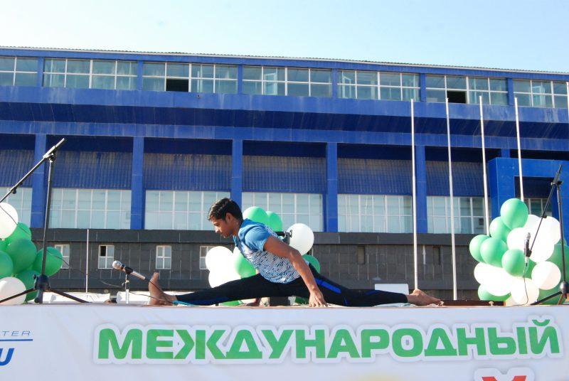 Новости Атырау - Международный день йоги прошел в Атырау DSC_1500
