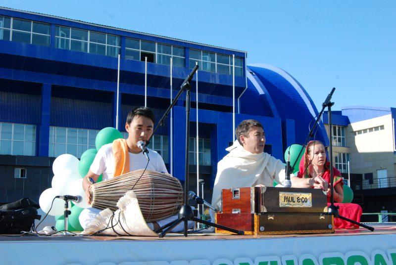 Новости Атырау - Международный день йоги прошел в Атырау DSC_1503