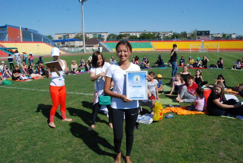 Новости Атырау - Международный день йоги прошел в Атырау DSC_1529