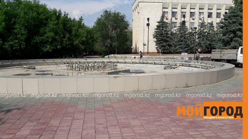В Уральске к 1 мая подключат все фонтаны
