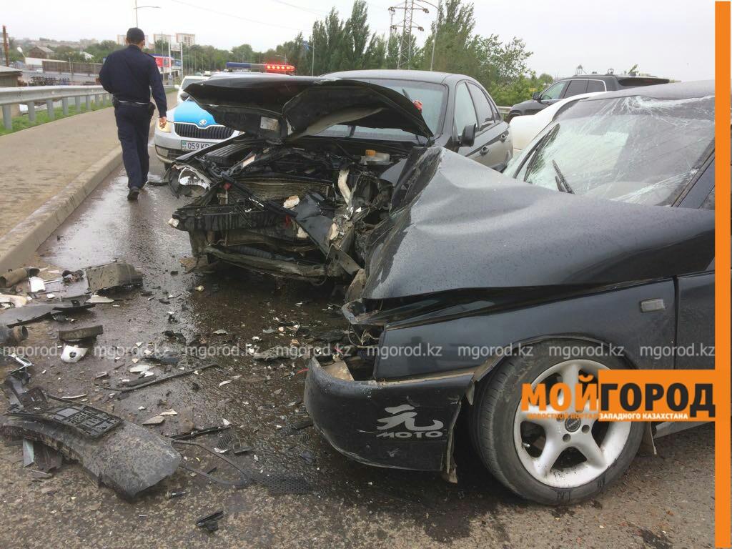 Шесть человек пострадали в ДТП на мосту в Уральске IMG-20170603-WA0038