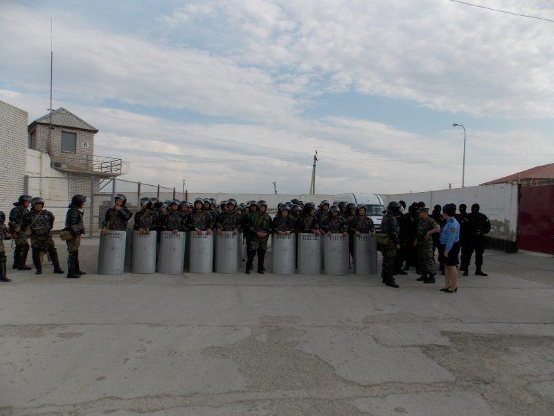 Новости Атырау - В женской колонии Атырау прошли массовые беспорядки Массовые беспорядки