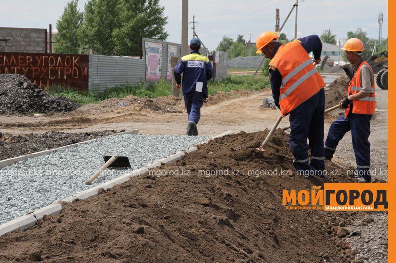 В июле в Уральске на ремонт закроют улицу Гагарина remont dorog (7)