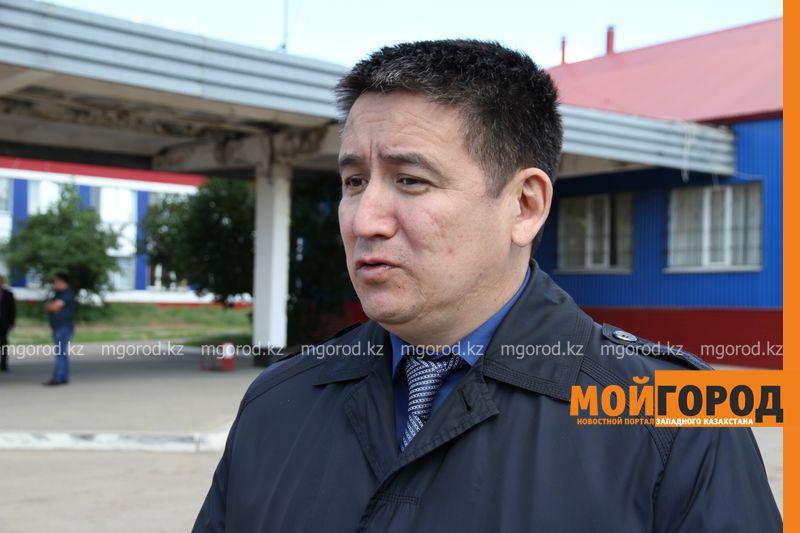 С автовокзала Уральска мужчину эвакуировали с подозрением на чуму ses (1)