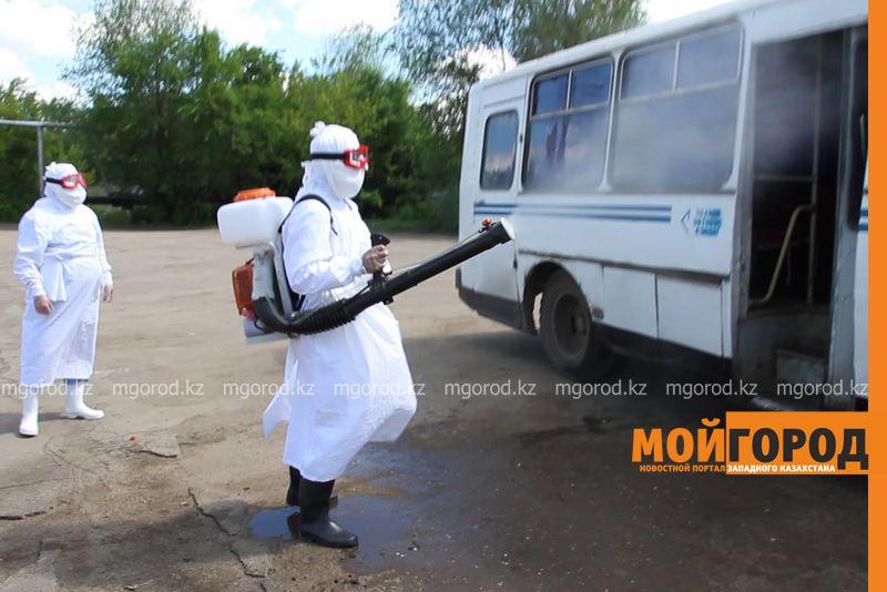 С автовокзала Уральска мужчину эвакуировали с подозрением на чуму ses (2)