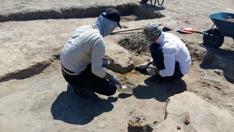 Атырауские студенты участвуют в раскопках древнего урочища Актобе 03628381-26b3-48e0-aa22-9e52e5576129