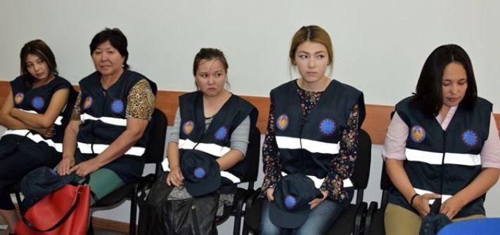 Новости Атырау - 8 девушек будут помогать полицейским следить за порядком в Атырау 19955939_786793464815923_5358261708626354472_o