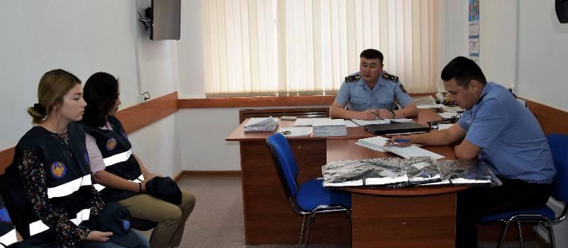 Новости Атырау - 8 девушек будут помогать полицейским следить за порядком в Атырау 19957007_786793531482583_1420043919312772680_o