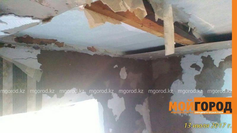 Новости Уральск - В ЗКО сельчанка, пострадавшая от града, не может сделать ремонт на выделенные средства darinsk (1)