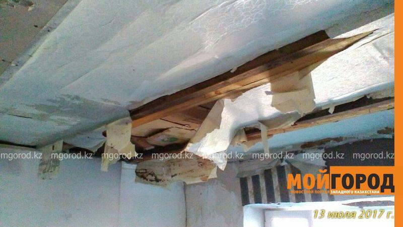 Новости Уральск - В ЗКО сельчанка, пострадавшая от града, не может сделать ремонт на выделенные средства darinsk (3)