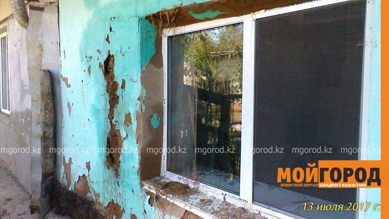 Новости Уральск - В ЗКО сельчанка, пострадавшая от града, не может сделать ремонт на выделенные средства darinsk (5)