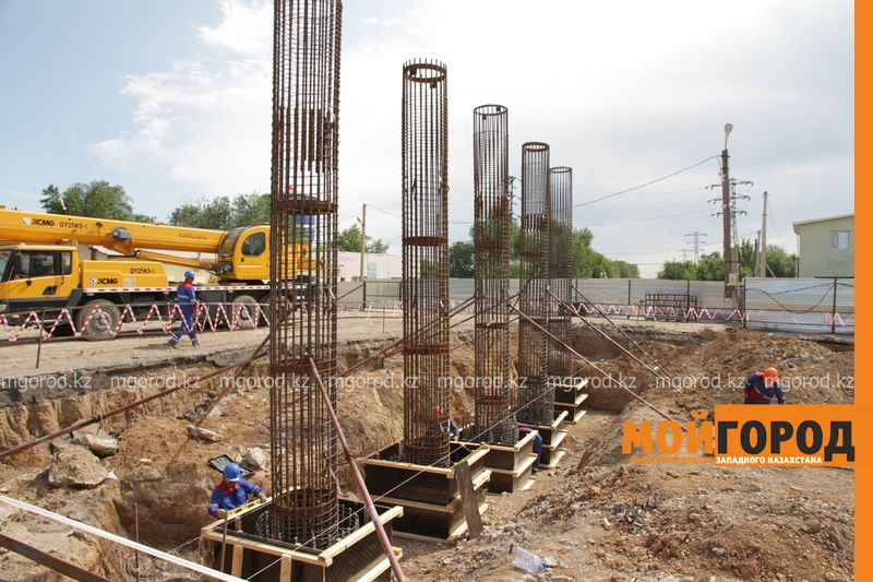 Реконструкцию деповского моста в Уральске планируют закончить летом 2018 года