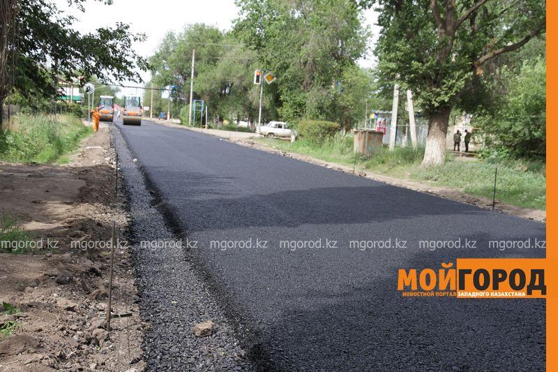 Строители автодороги в Уральске не сдержали обещание, данное акиму города dorogi