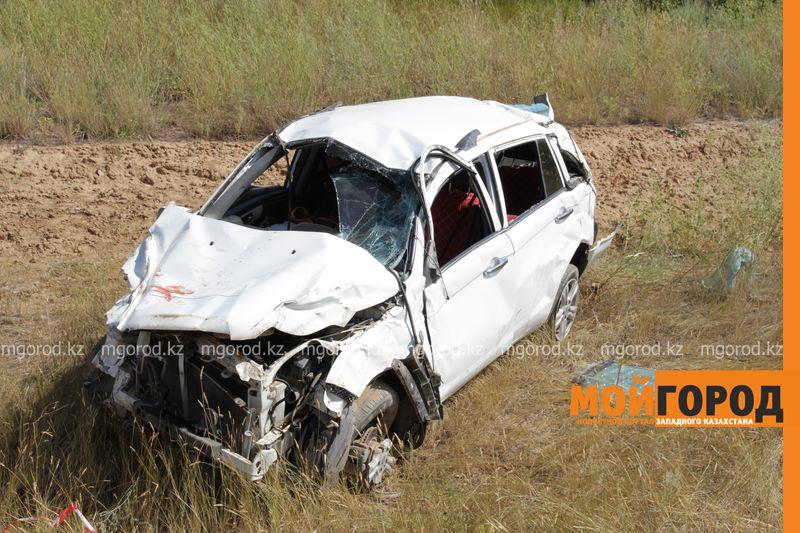 Новости Уральск - Двое мужчин погибли в ДТП на трассе Самара-Шымкент в ЗКО dtp trassa zko (1)