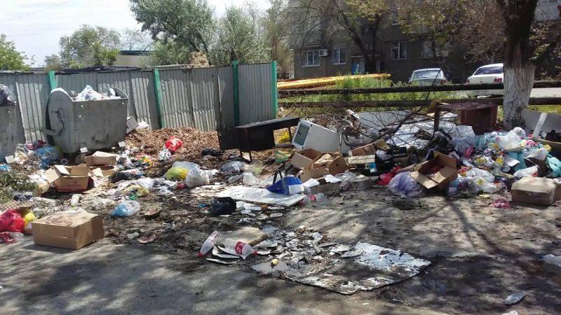 Новости Атырау - Долги за вывоз мусора с жителей Атырау будут взыскивать через суд Иллюстративное фото с сайта youvision.kz