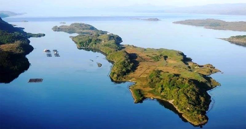 Новости - В Шотландии продают целый остров за 5,6 млн долларов ostrov