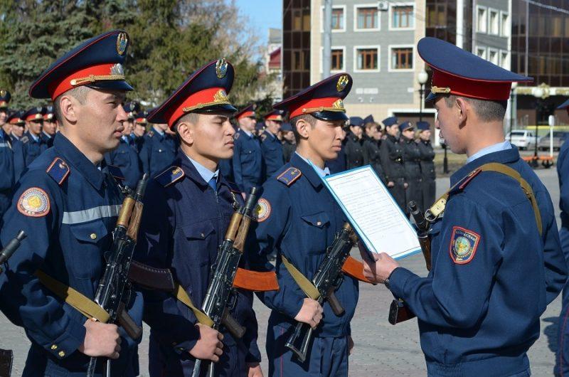 Почти 300 полицейских не хватает в Атырауской области Иллюстративное фото с сайта yvision.kz