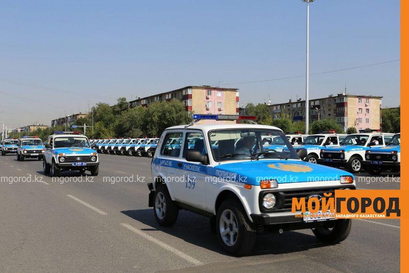Новости Актобе - 180 новых автомобилей вручили полицейским Актюбинской области