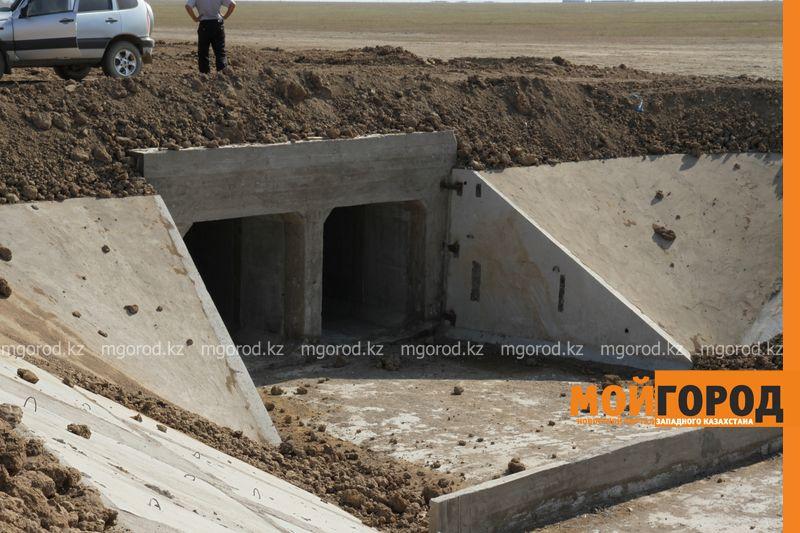 В ЗКО построят три новых водохранилища