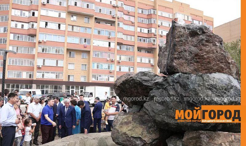 Новости Актобе - В Актобе открыли новый сквер