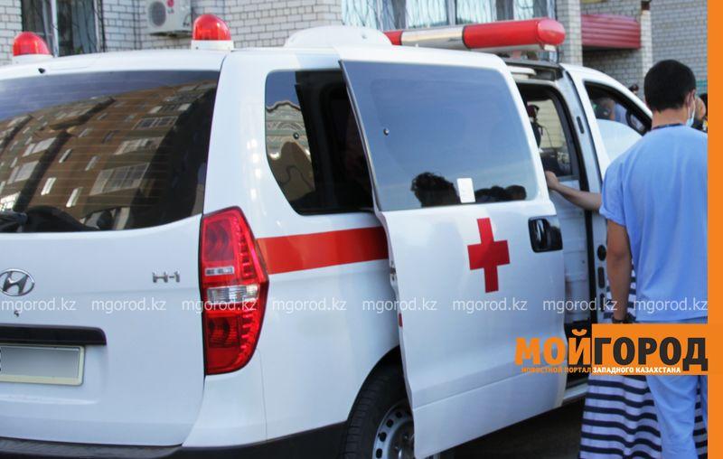 Во время стрельбы в Актау пострадали двое мужчин