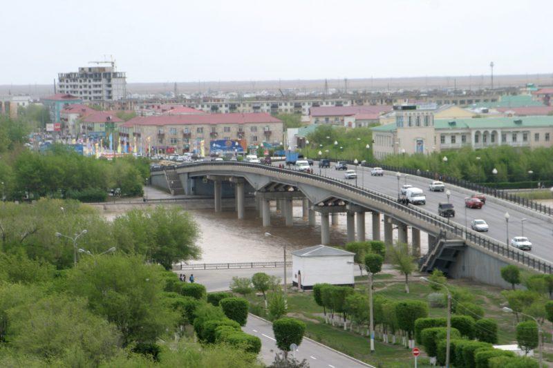 Новости Атырау - На выходные в Атырау закроют центральный мост