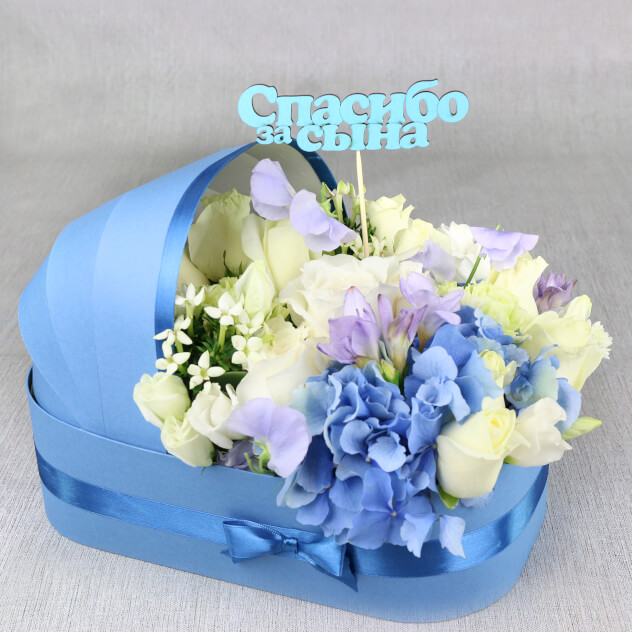 Какие цветы дарят на рождение ребенка