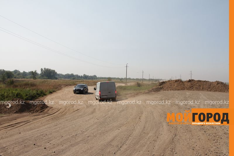 Новости Уральск - К поселкам в ЗКО строят дороги из глины